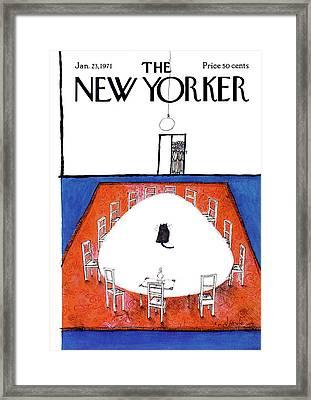 New Yorker January 23rd, 1971 Framed Print