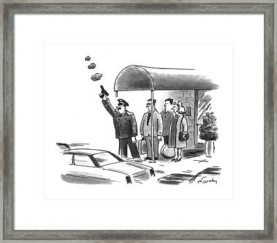 New Yorker January 24th, 1994 Framed Print by Mike Twohy