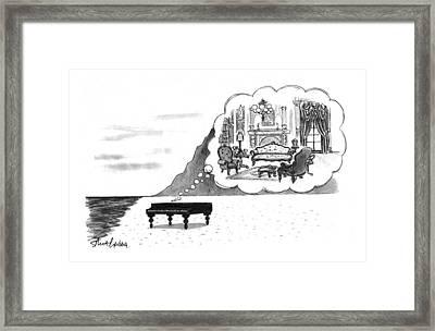 New Yorker January 24th, 1994 Framed Print by Mort Gerberg
