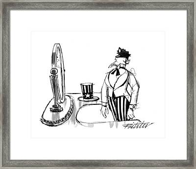 New Yorker January 25th, 1993 Framed Print by Mischa Richter