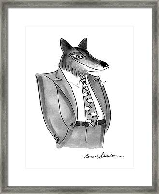 New Yorker January 27th, 1992 Framed Print by Bernard Schoenbaum