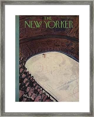 New Yorker January 28th, 1950 Framed Print by Abe Birnbaum