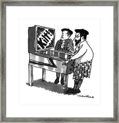 New Yorker January 28th, 1991 Framed Print by Michael Crawford