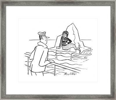 New Yorker January 29th, 1944 Framed Print