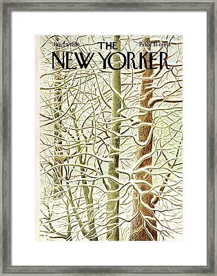 New Yorker January 29th, 1966 Framed Print