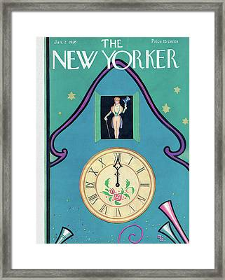 New Yorker January 2nd, 1926 Framed Print by Rea Irvin