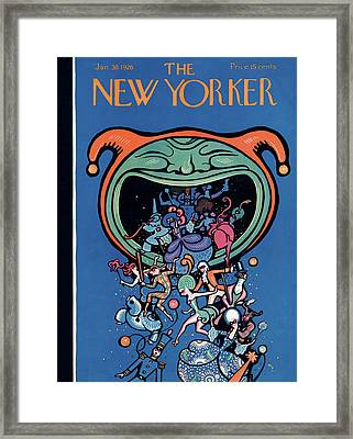 New Yorker January 30th, 1926 Framed Print