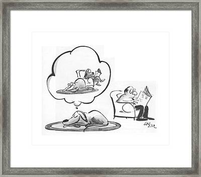 New Yorker January 31st, 1970 Framed Print by Lee Lorenz