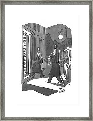 New Yorker January 3rd, 1942 Framed Print by Peter Arno