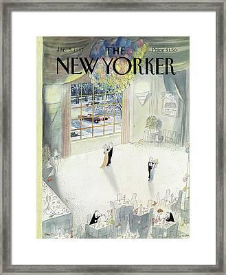New Yorker January 5th, 1987 Framed Print