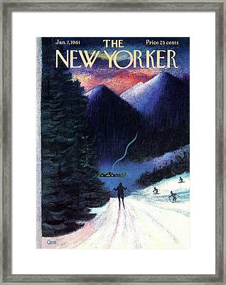 New Yorker January 7th, 1961 Framed Print
