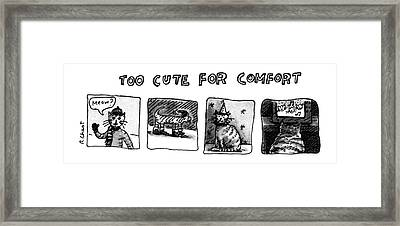 New Yorker January 7th, 1980 Framed Print by Roz Chast