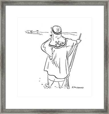 New Yorker January 8th, 1944 Framed Print