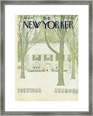 New Yorker January 8th, 1979 Framed Print