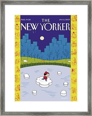 New Yorker January 8th, 2007 Framed Print