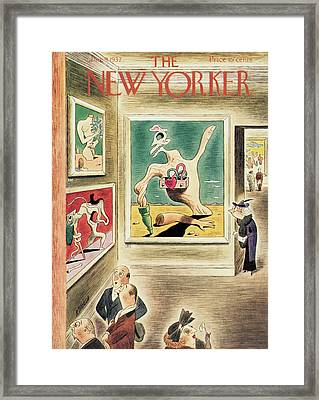 New Yorker January 9th, 1937 Framed Print by Richard Taylor