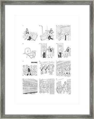 New Yorker January 9th, 1943 Framed Print