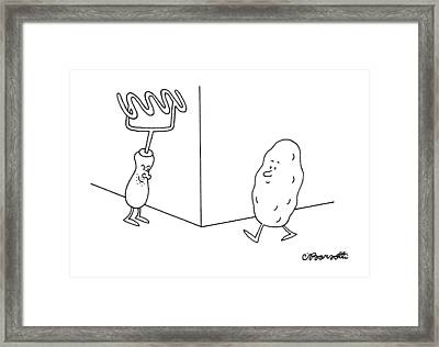 New Yorker January 9th, 1995 Framed Print by Charles Barsotti