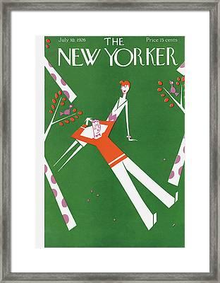 New Yorker July 10th, 1926 Framed Print by Julian de Miskey