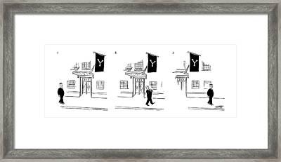 New Yorker July 10th, 1954 Framed Print