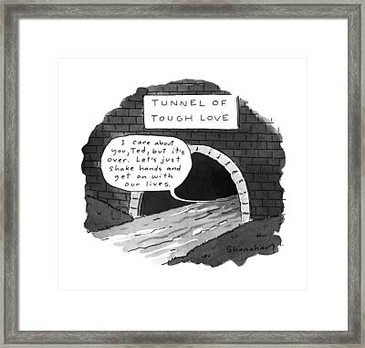 New Yorker July 10th, 1995 Framed Print