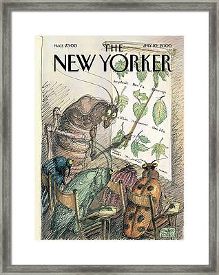 New Yorker July 10th, 2000 Framed Print