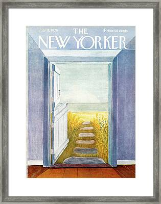 New Yorker July 11th, 1970 Framed Print