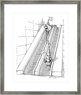 New Yorker July 11th, 1988 Framed Print by John O'Brien