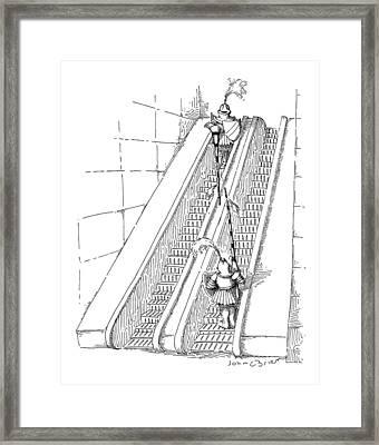 New Yorker July 11th, 1988 Framed Print by John O'Brien