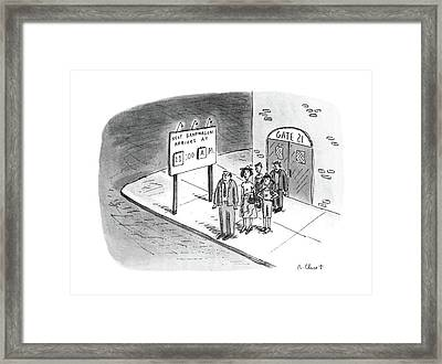 New Yorker July 11th, 1988 Framed Print by Roz Chast