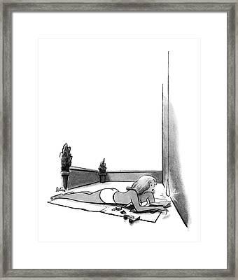 New Yorker July 12th, 1952 Framed Print by Eldon Dedini