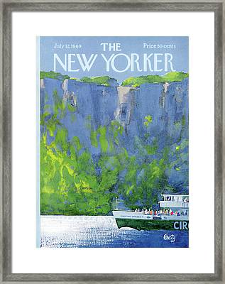 New Yorker July 12th, 1969 Framed Print