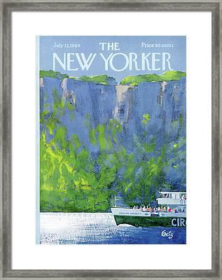 New Yorker July 12th, 1969 Framed Print by Arthur Getz