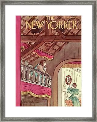 New Yorker July 13th, 1935 Framed Print