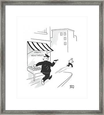 New Yorker July 13th, 1940 Framed Print