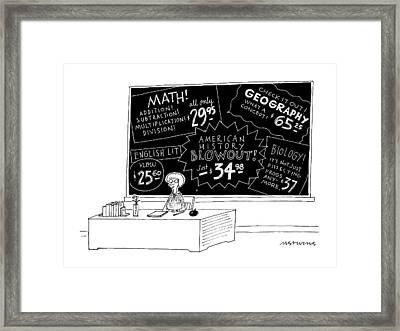 New Yorker July 13th, 1992 Framed Print by Mick Stevens