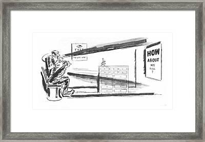 New Yorker July 15th, 1933 Framed Print by Leonard Dove