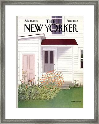 New Yorker July 15th, 1985 Framed Print by Gretchen Dow Simpson