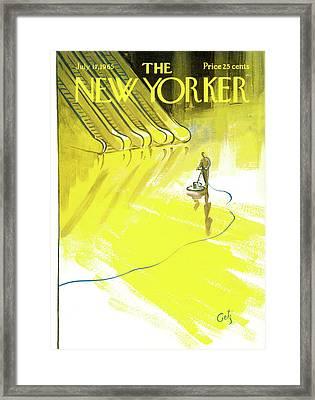 New Yorker July 17th, 1965 Framed Print by Arthur Getz