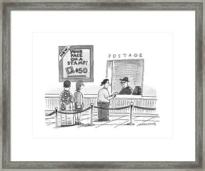 New Yorker July 17th, 1995 Framed Print by Mick Stevens