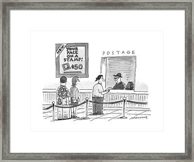 New Yorker July 17th, 1995 Framed Print by Mick Stevens