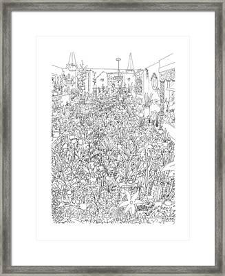 New Yorker July 18th, 1988 Framed Print by Ed Arno