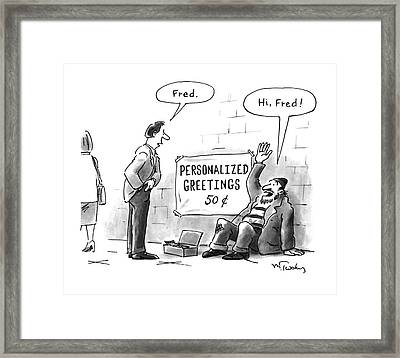 New Yorker July 18th, 1994 Framed Print by Mike Twohy