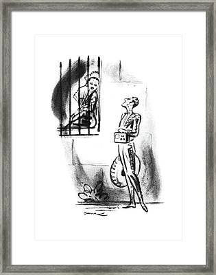 New Yorker July 19th, 1941 Framed Print