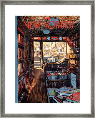New Yorker July 20th, 1957 Framed Print by Arthur Getz