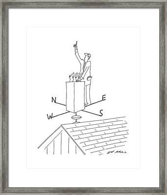 New Yorker July 20th, 1992 Framed Print by Ed Arno
