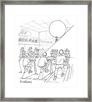 New Yorker July 20th, 1998 Framed Print by Mort Gerberg