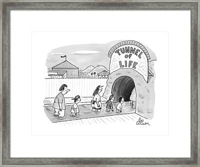 New Yorker July 21st, 1997 Framed Print