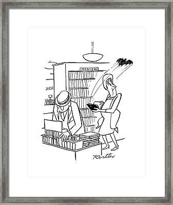 New Yorker July 22nd, 1944 Framed Print
