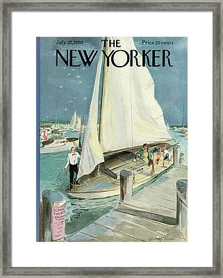 New Yorker July 22nd, 1950 Framed Print